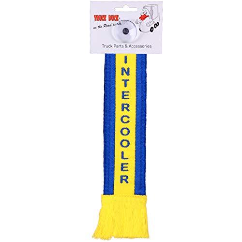 TRUCK DUCK® LKW Auto Minischal Intercooler Trucker Mini Schal Wimpel Flagge Fahne Saugnapf Spiegel Deko