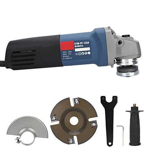 Winkelschleifer Leistungsstarkes 11-Ampere-Schleifwerkzeug mit sicherem Paddelschalter 4-1/2-Zoll-Schleifmaschinen mit 1 Schleifscheibe Dünne Metallschneidscheibe für Winkelschleifer(V1)