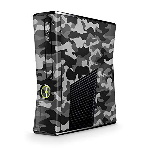 Skins4u Design modding Aufkleber Vinyl Skin Klebe Folie Skins Schutzfolie kompatibel mit Xbox 360 Slim Urban Camo