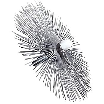 Wohler Usa #1284 10 Inch Flat Star Wire Brush For Viper For 8 Inch Flue