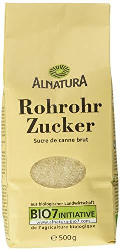 Alnatura Bio Rohrohrzucker, 6er Pack (6 x 500 g)