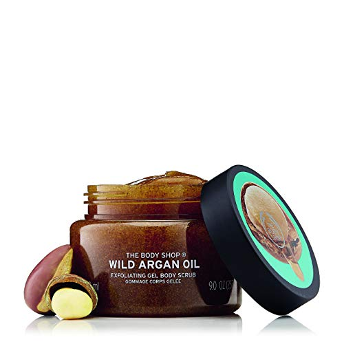 The Body Shop Wild Argan Oil Exfoliating Gel 250ml One Size