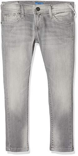 Pepe Jeans Jungen Finly Jeans, Grau (Denim Uk5), 8 Jahre (Herstellergröße: 8)