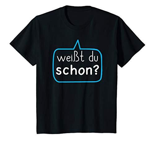 Kinder Großer Bruder 2021 Shirt Weißt du schon Werdender Bruder T-Shirt