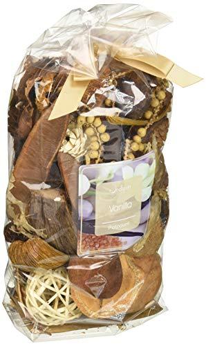 Jodhpuri Natural Vanilla Bean Scented Potpourri – Fragrance Botanical Mix for Your Bathroom, Living Room, Office – Includes Rich Cream, 18 oz