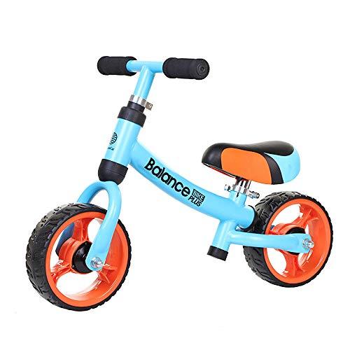 Bicicleta de equilibrio para niños de 8 pulgadas, scooter, bicicleta para niños La absorción de impactos del andador de bebé de 1-3 años es estable, segura y silenciosa, fácil de instalar-blue_8