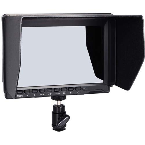 """ECLIPSE PHOTO GROUP EPG 7"""" IPS DSLR On-Camera Field Monitor with Sunshade and HDMI Lock 