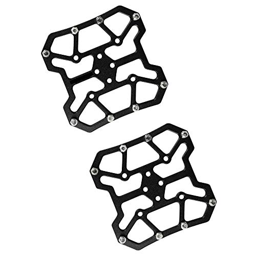 MERSSAVO Adattatori piattaforma pedali automatici per mountain bike MTB per sistemi pedali SPD KEO