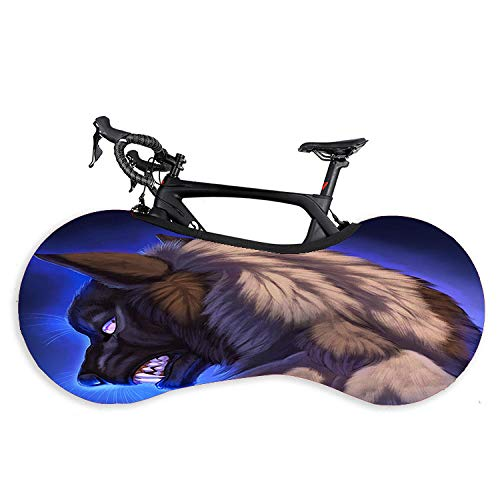 Funda de protección elástica para rueda de bicicleta, funda de protección para rueda de bicicleta, bicicleta de montaña, ropa de coche