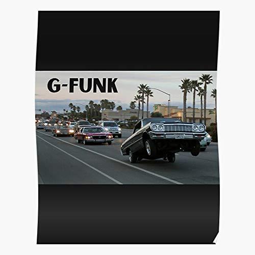 Hip Funk G Warren Dre Dr Lyricism Text Hop Rap I Fsgteam- Impressive and Trendy Poster Print decor...