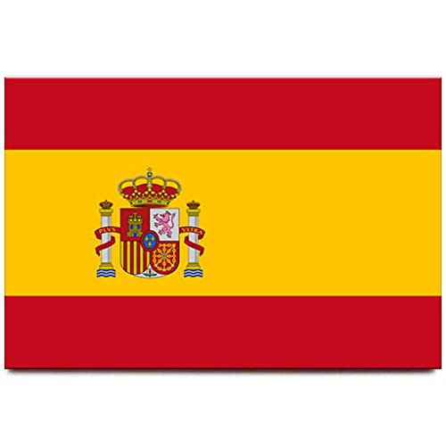 Kühlschrankmagnet, Spanien-Flagge, Madrid, Barcelona, Reise-Souvenir