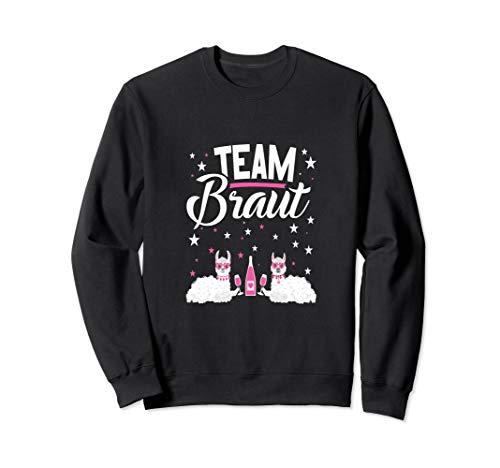 👰 Team Braut Bachelorette Party Alpaka JGA Sweatshirt