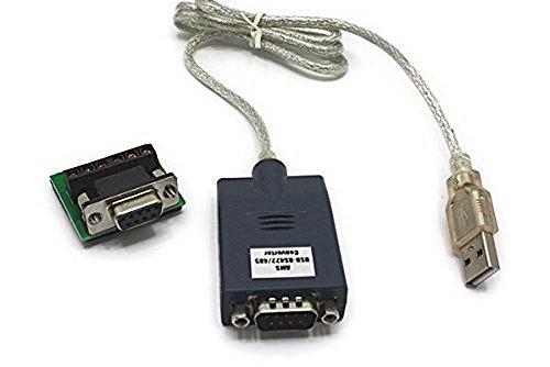 『USBからRS485/RS422へ変換アダプタ 端子台付 AMS-USB-422/485』のトップ画像