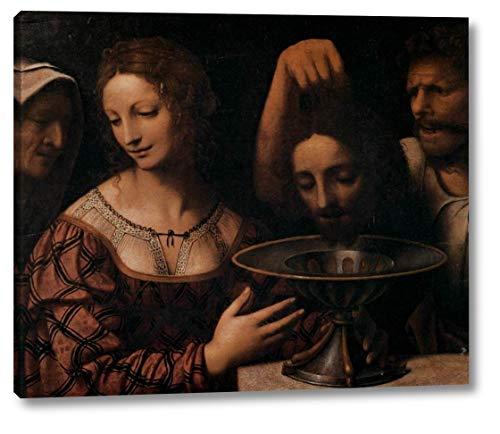 "Salome by Bernardino Luini - 10"" x 12"" Gallery Wrap Canvas Art Print - Ready to Hang"