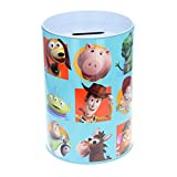 The Tin Box Company Toy Story Coin Bank for Kids and Coin Collectors. Toy Story Blue Bank.