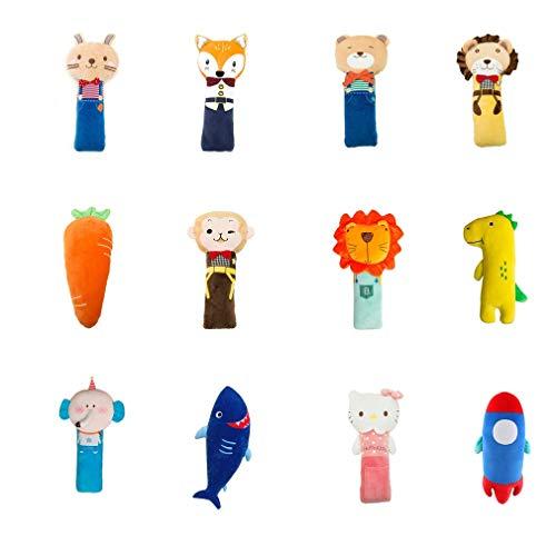 Yinyimei Almohadillas para Cinturón de Seguridad Universal Dibujos Animados Peluche Niños Auto Asiento de Coche Cinturón de Seguridad Arnés Safety Strap Strap Cojín Fundas (Color Name : Lion)