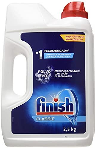 Finish Classic - Detergente para el Lavavajillas, en Polvo, 2.5 kg
