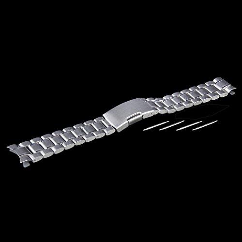 ジェネリック 交換ベルトステンレス製 腕時計ストラップ 22mm シルバーシルバー