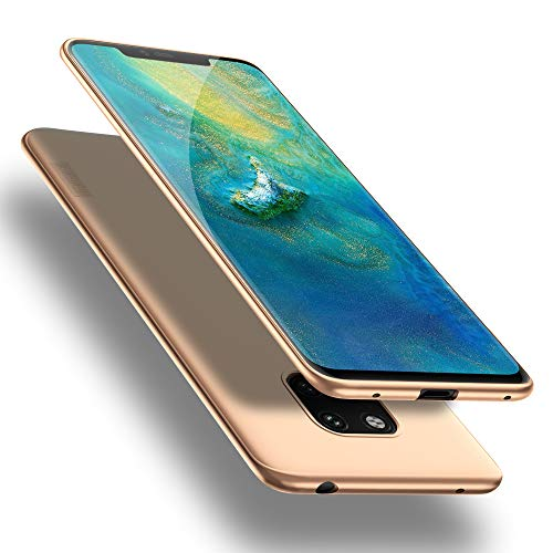 X-level Huawei Mate 20 Pro Hülle, [Guardian Serie] Huawei Mate 20 RS Hülle, Soft Flex Silikon Premium TPU Handyhülle Schutzhülle für Huawei Mate20 Pro / Mate20 RS Hülle Cover - Gold