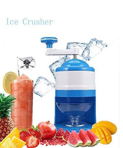 Ice Crusher Manuell Kleine Haushalts Smoothie Maschine Handheld Eisbrecher Handkurbel Becher mit Große Kapazität Einfache Bedienung,für Home Kitchen oder Bar