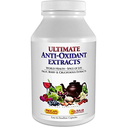 Andrew Lessman Ultimate Anti-Oxidant Extracts 60 Capsules – Concentrated Blend of Standardized Extracts. Naturally Protective Polyphenols, Berry and Cruciferous Vegetable Extracts. No Additives