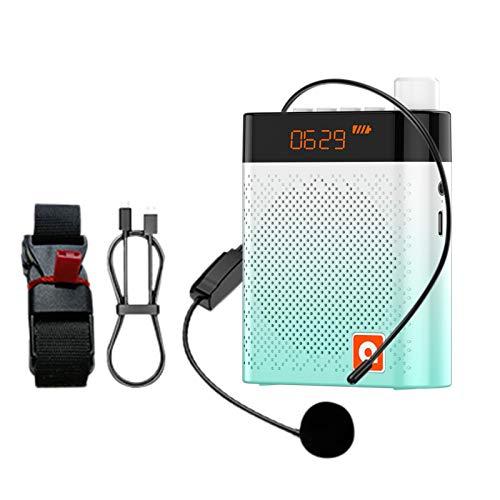 Amplificador de voz portátil, sistemas de megafonía, amplificador de voz Bluetooth con...