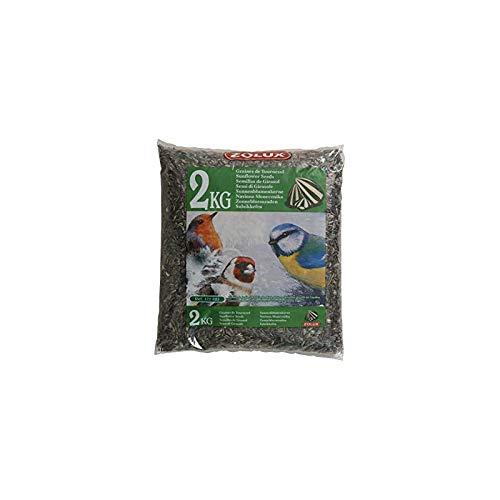 Zolux. Tournesol Aliment pour Oiseaux de Jardin kg. 2, Multicolore, Unique