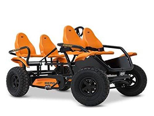 Berg - Go Kart Grantour F fuoristrada, nero/arancione