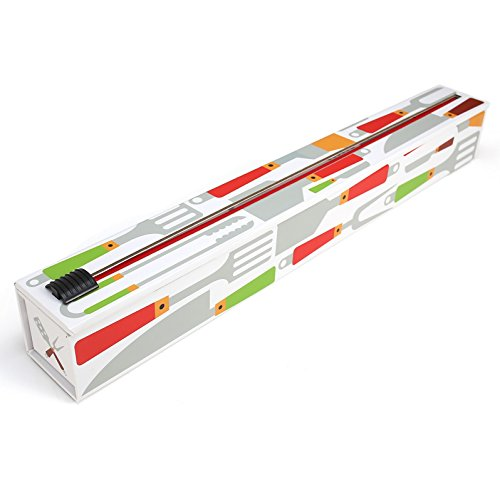 ChicWrap 18' Essential Tools Foil Dispenser - Reusable with Slide Cutter Technology