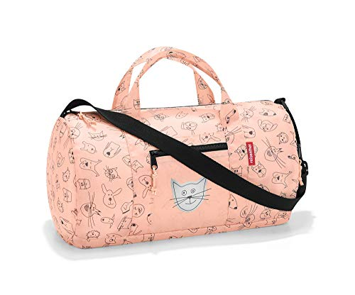Reisenthel Mini maxi - Bolsa de la compra para niños (38 x 21 x 21 cm, 10 L) Cats And Dogs Rose talla única