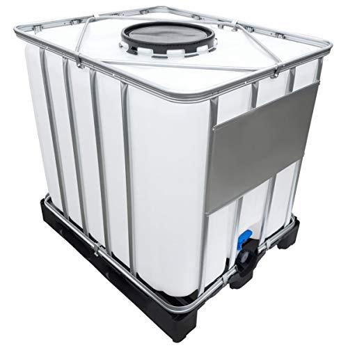 Werit 1000l IBC Container (Mannloch DN 400) auf PE-Palette NEU