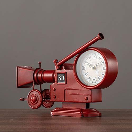 Reloj de la cámara Crafts Retro Nostálgico Decoración de Escritorio Principal de...
