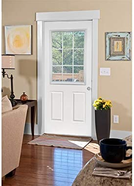 """ODL Entry Door Glass Replacement for Home Improvement - 24"""" x 38"""" Exterior or Front Door Inserts Glass Kit with Energ"""