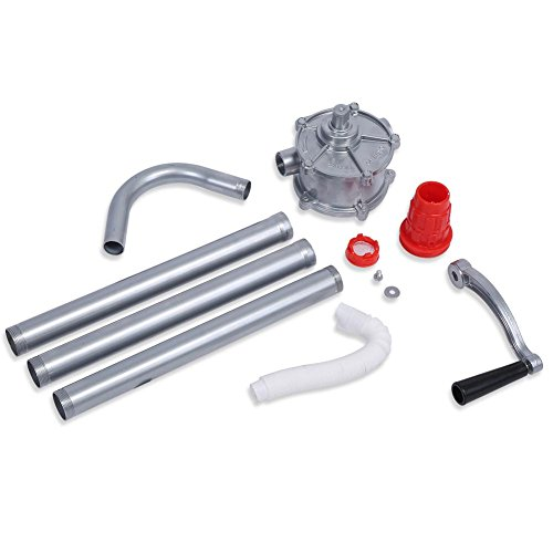 GOTOTOP Handkurbel Ölfass Pumpe Handpumpe Ölpumpe Diesel Fass Handtrommel Fass Pumpe Werkzeug