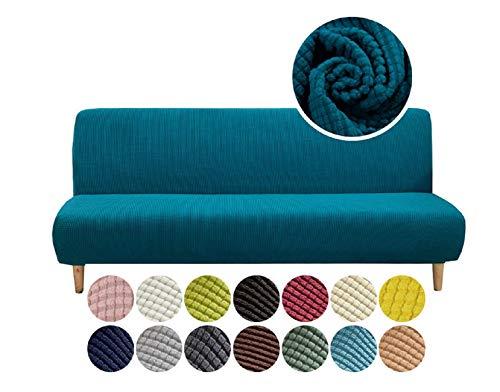 N\A Sofabezug, Sofa Handtuch, Hafenpersenning, elastische Sofakissen, rutschfest, 1PCS (Yellow, 151 x 180 cm)