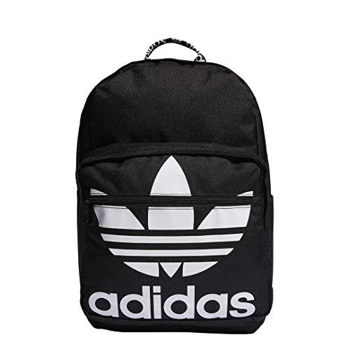 adidas Originals Trefoil Taschenrucksack, Unisex-Erwachsene, Rucksack, Originals Trefoil Pocket Backpack, schwarz, Einheitsgröße