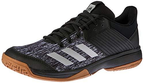 adidas Ligra 6, Zapatos de Voleibol para Mujer,Negro (Core Black/Silver Met./Ftwr White),47 1/3 EU