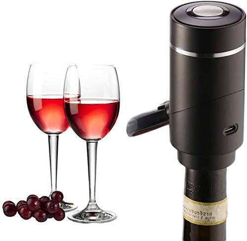LYMHGHJ Vertedor de Vino con Carga USB, Pico vertedor de Vino eléctrico,...