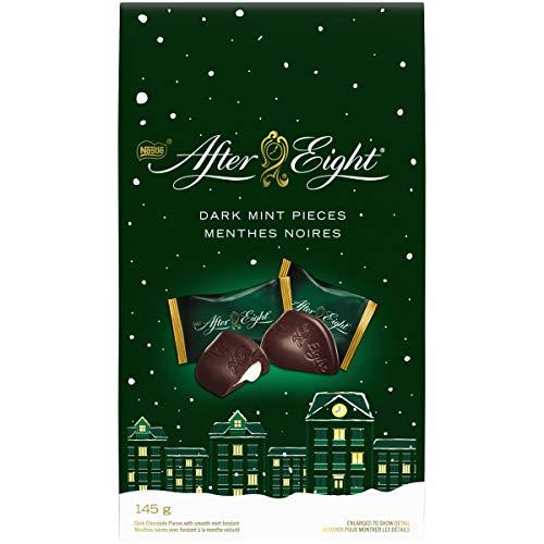 NESTLÉ After Eight Dark Mint Chocolate Pieces Boutique Bag 145 g Pieces 140g Bag
