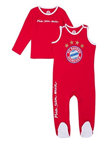 FC Bayern München Strampler Logo Baby, 62/68