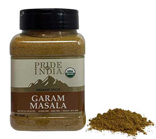 Pride Of India - Organic Garam Masala Ground - 8 oz