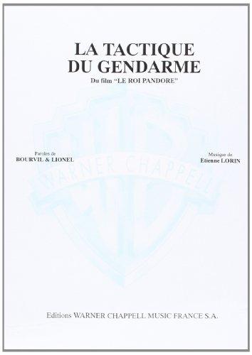 Bourvil La Tactique Du Gendarme Voice & Piano Book