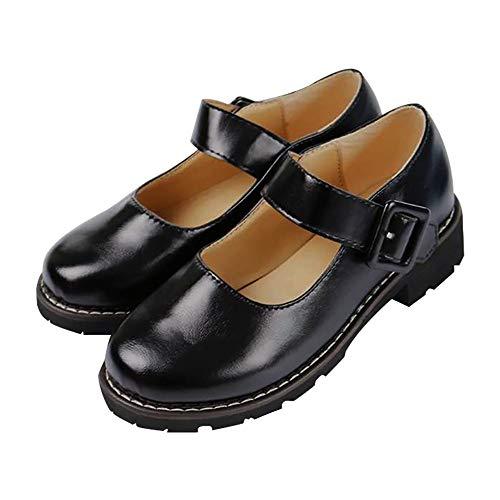 Zhengyun Anime Himiko Toga Cosplay Schuhe My Hero Academia Schulmädchen Uniform Schuhe Lolita Pumps Low Top japanische Studenten Dienstmädchen Kleid Schuhe