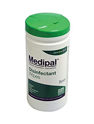 Medipal Alcohol Free Disinfectant Wipes 200-Piece by Pal International Limited