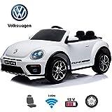 BC BABY COCHES Coche eléctrico para niños - Volkswagen Beetle Dune...