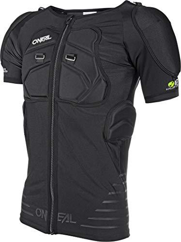 O\'NEAL | Protektoren-Jacke | Motocross Enduro Motorrad | Elastisch leichte Protektorenjacke, aus Polyurethan-Schaum, Mesh-Einsatz | STV Short Sleeve Protector Shirt | Erwachsene | Schwarz | Größe XL