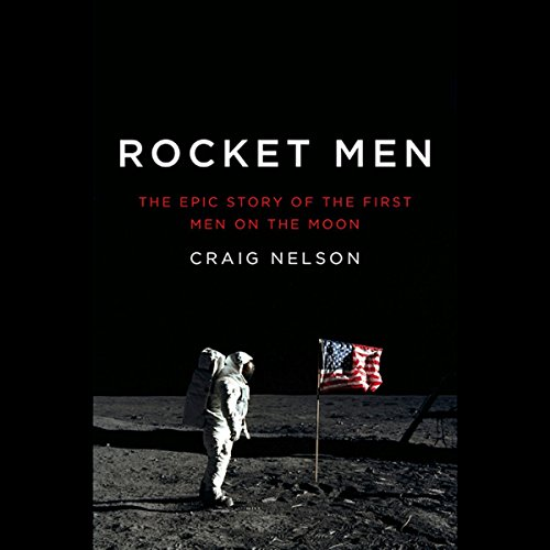 Rocket Men audiobook cover art