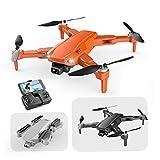 Mini GPS drone S608 quadcopter pieghevole con FPV ad alta definizione grandangolare modalità di mantenimento altezza della telecamera arancione