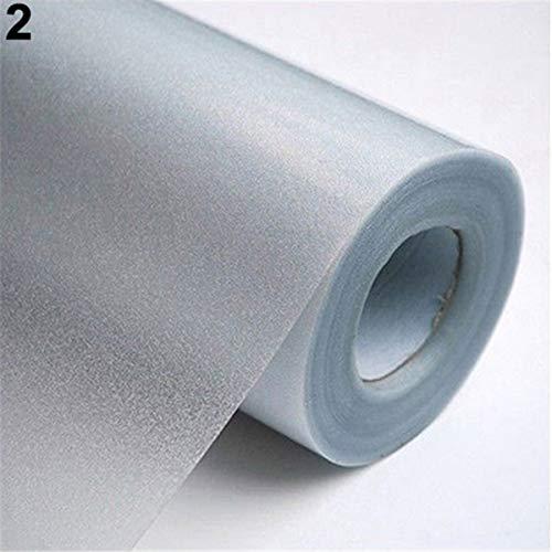JIUYUE raamsticker voor ramen, folie 200/100 cm, thuiskantoor, slaapkamer, badkamer, ramen, raamfolie, vorstbescherming, waterdicht, zelfklevend, van gesatineerd PVC