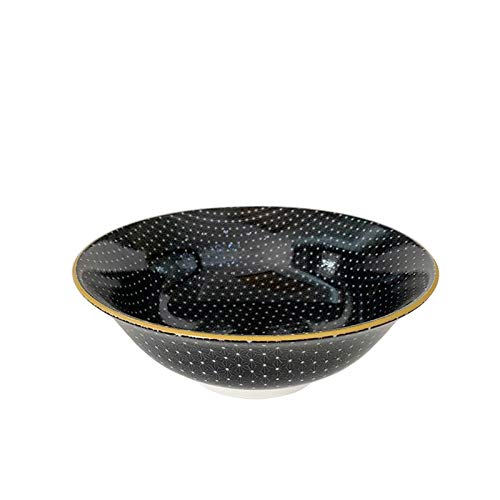 Creative Bowl Handbemalte Keramik-Nudelschale Instant-Nudelschale Ramen Bowl Home Suppenschüssel Obstschale Salatschüssel Dessertschale
